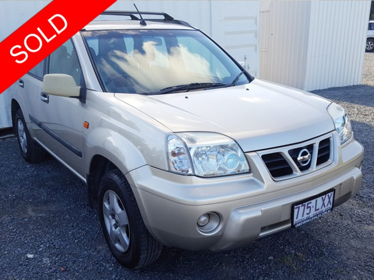 automatic 4x4 suv nissan x trail st 2003 gold used vehicle sales. Black Bedroom Furniture Sets. Home Design Ideas