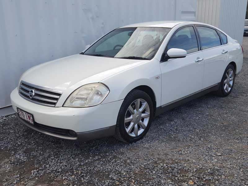 Automatic 2004 Nissan Maxima Sedan White Used Vehicle Sales