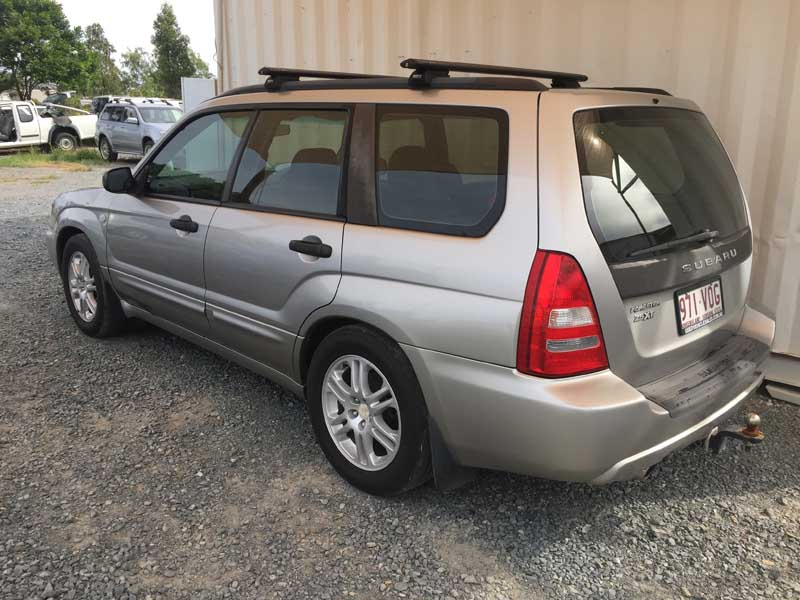 Subaru Forester Xt All Wheel Drive 2004 Silver Used