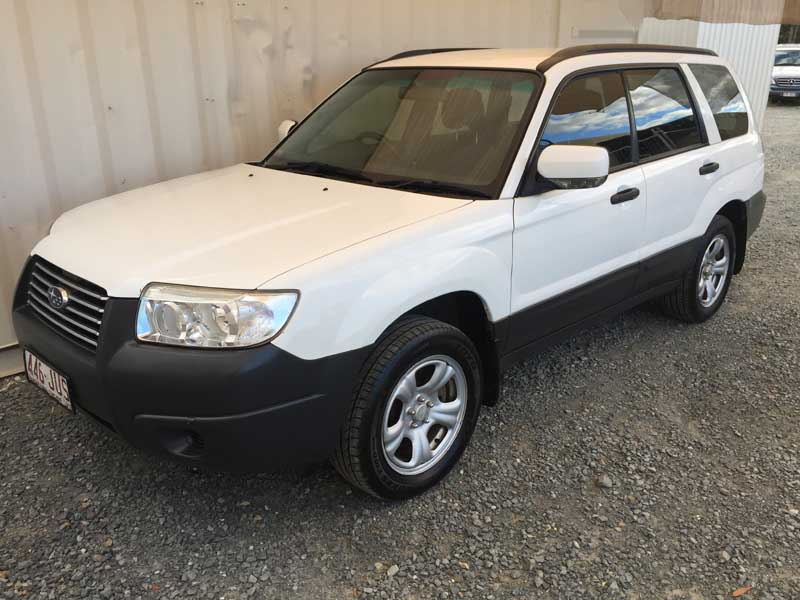 Subaru Forester 2006 White 3 Used Vehicle Sales