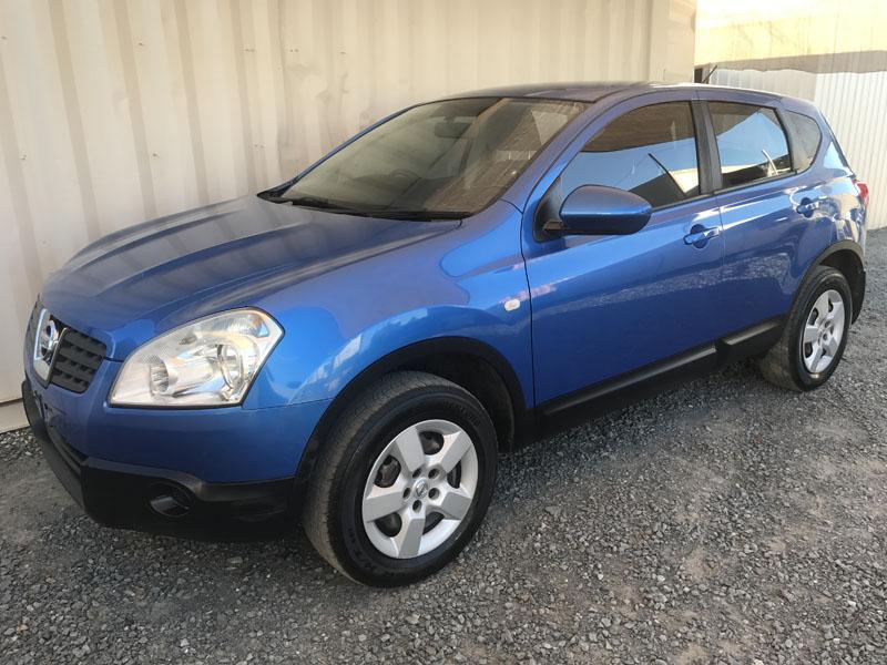 Nissan Dualis 2008 Blue 3
