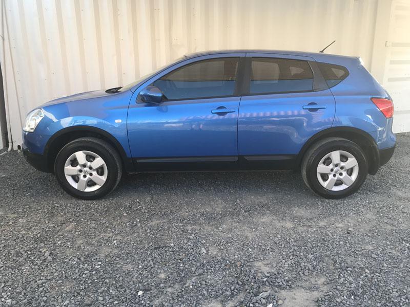 Nissan Dualis 2008 Blue 4