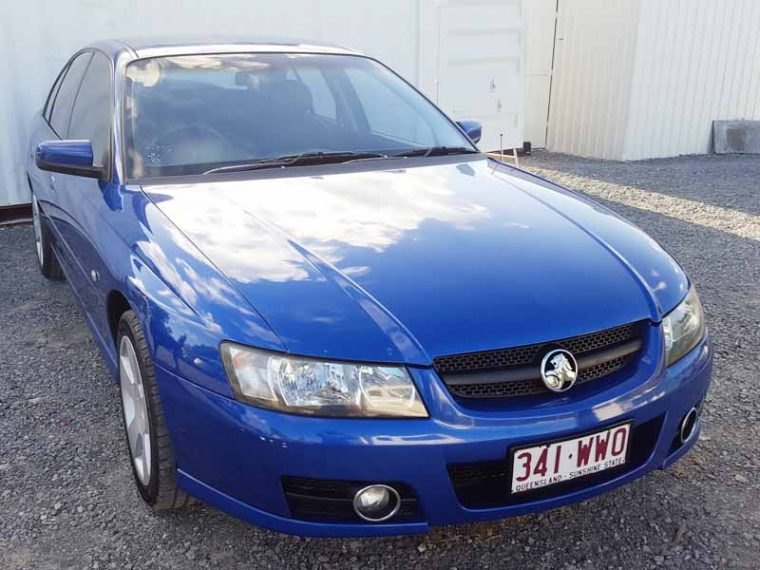 Automatic Holden Commodore SVZ Sedan 2006 Blue