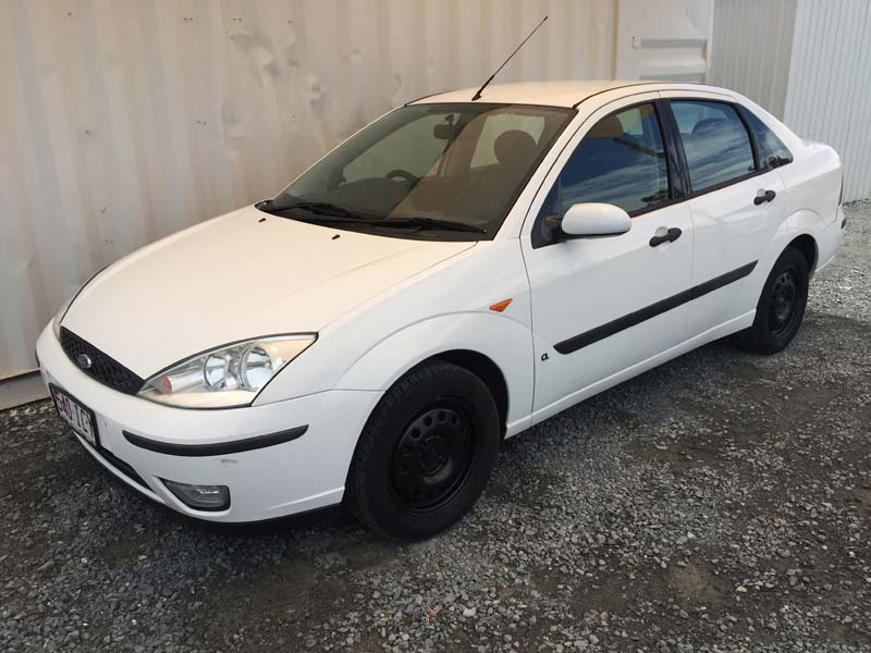 Ford Focus Sedan 5 Speed Manual 2003 White Used Vehicle