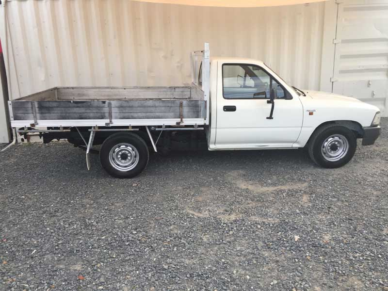 Cheap Amp Reliable Ute Toyota Hilux 1994 White Used