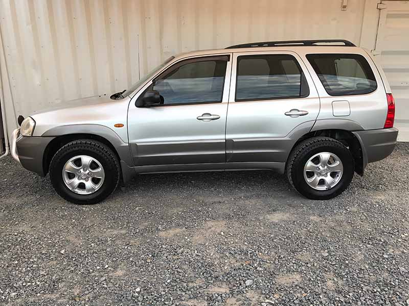 Fuel Efficient Used Cars >> Automatic 4x4 SUV 06 Mazda Tribute Silver - Used Vehicle Sales