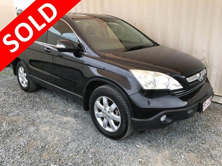 2017 Honda Crv For Sale >> Automatic 4x4 SUV Honda CR-V 2007 Black - Used Vehicle Sales