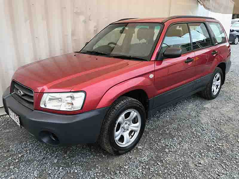 4cyl AWD Wagon Subaru Forester 2.5 X 2003 Red - Used ...