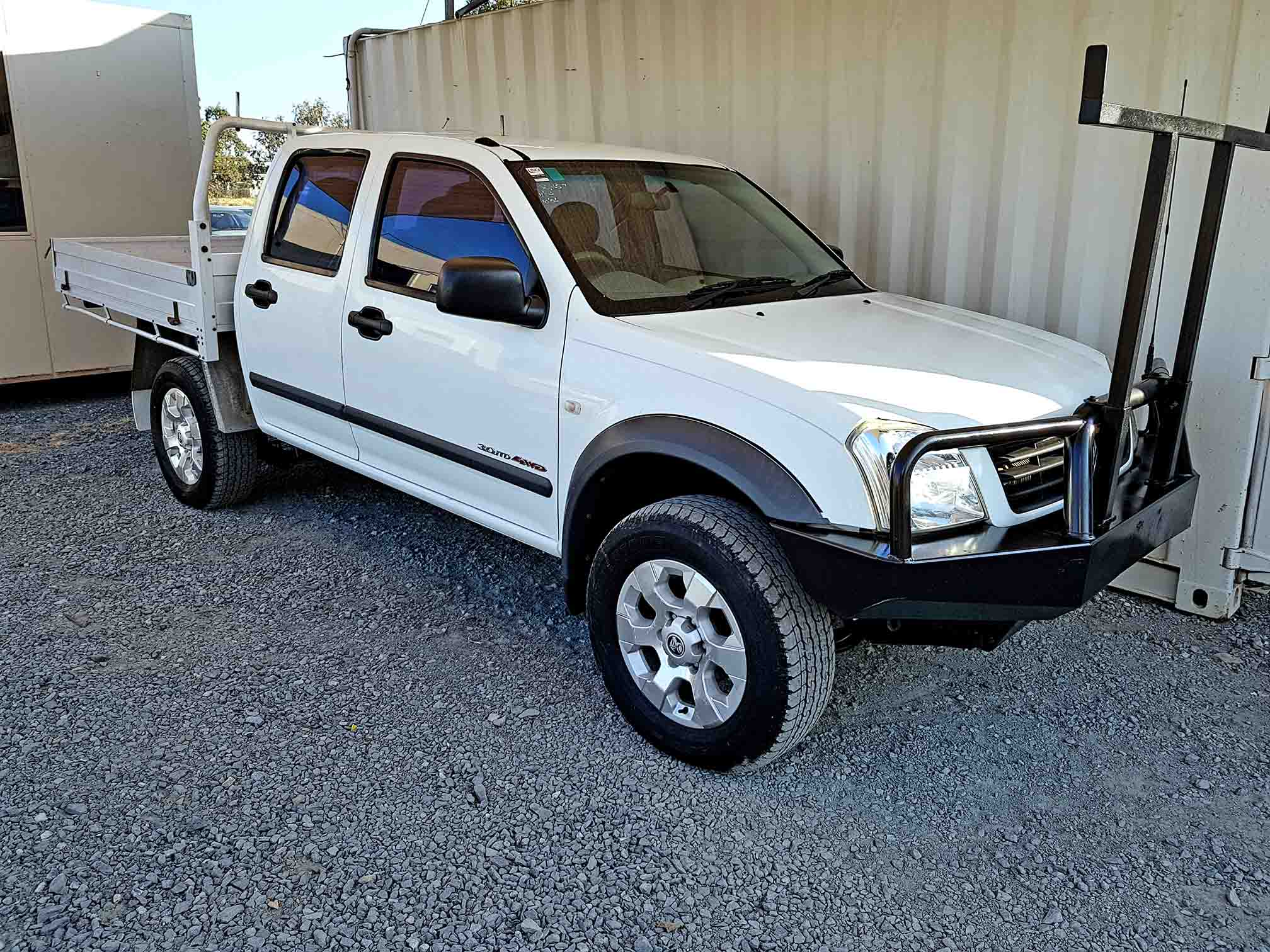 Dual Cab Ute Holden Rodeo 2004 White Used Vehicle Sales