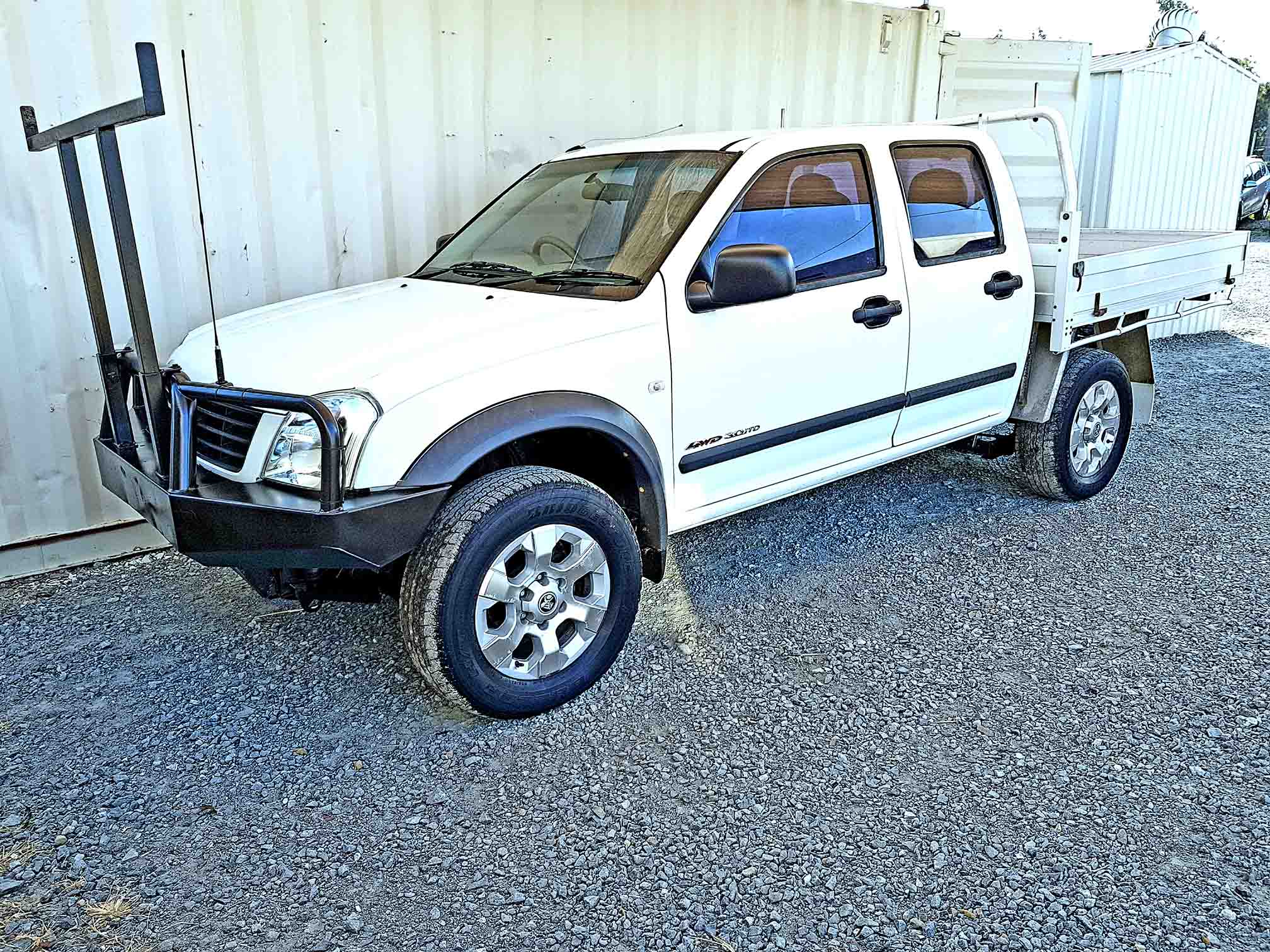 Buying A Car With No Title >> Dual Cab Ute Holden Rodeo 2004 White - Used Vehicle Sales