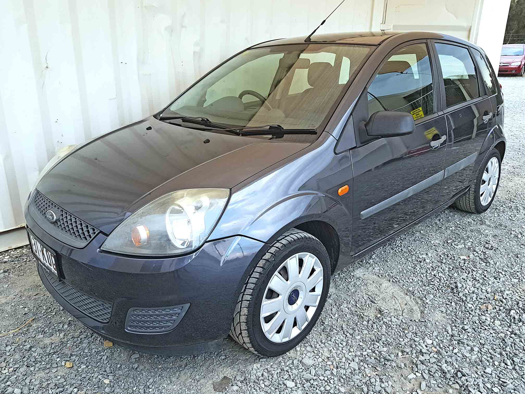 hatchback ford fiesta 2008 grey used vehicle sales. Black Bedroom Furniture Sets. Home Design Ideas