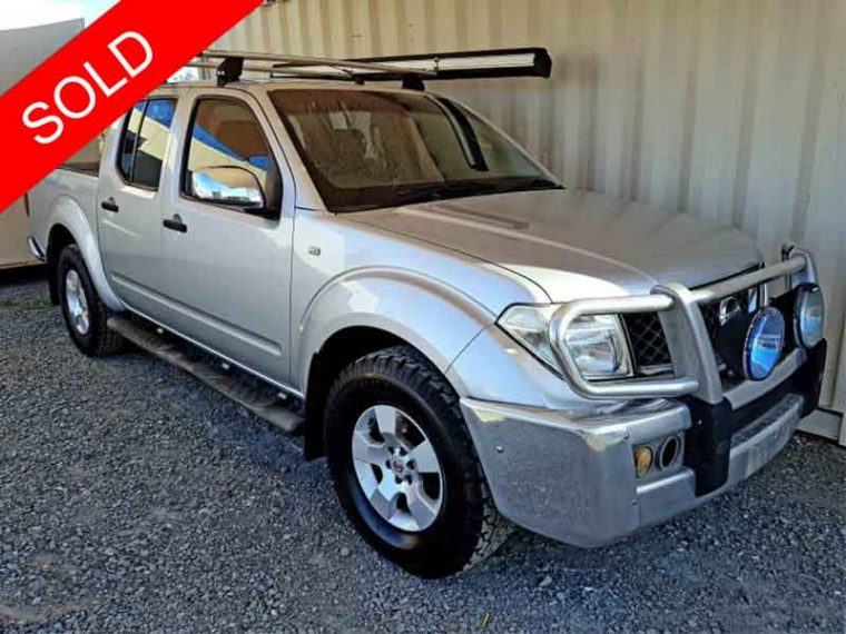 Automatic-Cars-06-Nissan-Navara-D40-Silver-For-Sale