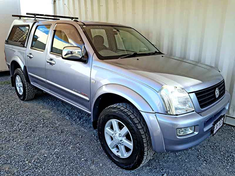 Holden Rodeo Dual Cab Ute 2004 Grey-1 & Automatic Dual Cab Ute Holden Rodeo 2004 Grey - Used Vehicle Sales