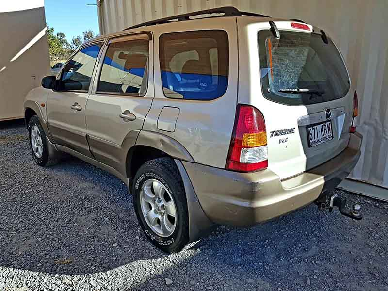 Automatic Mazda Tribute 2003 Gold 5 Used Vehicle Sales