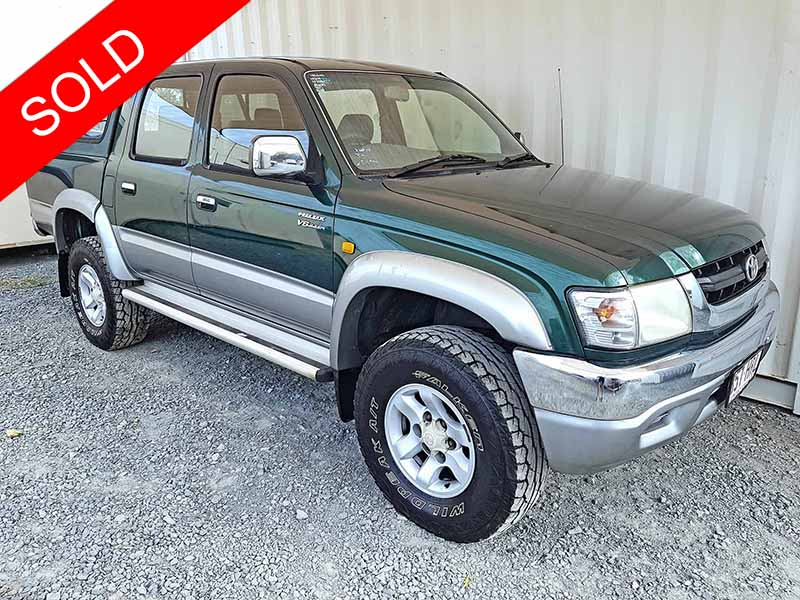 Used Cars For Sale By Dealer: Toyota Hilux SR5 2004 Green
