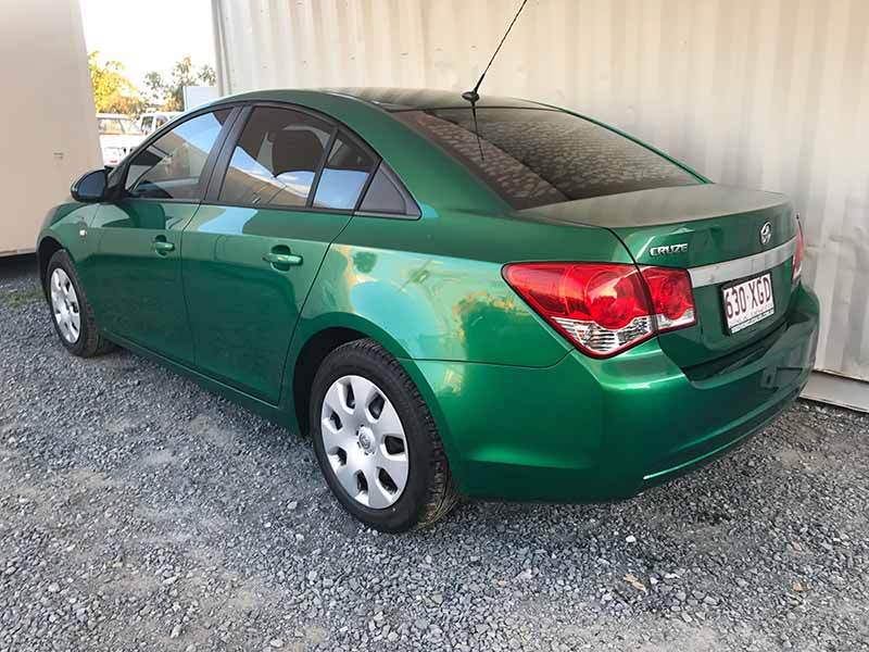 Automatic Sedan Holden Cruze 2011 Green Used Vehicle Sales