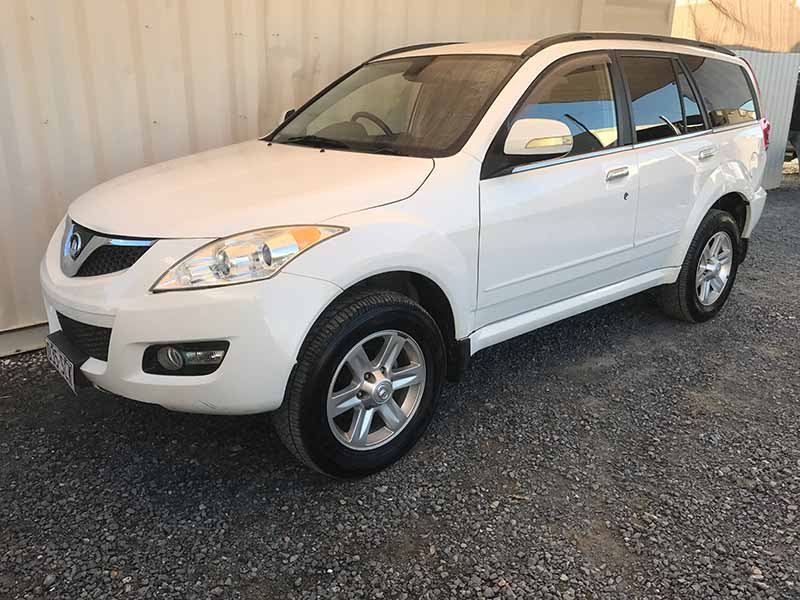 suv wagon great wall 2011 for sale white used vehicle sales. Black Bedroom Furniture Sets. Home Design Ideas