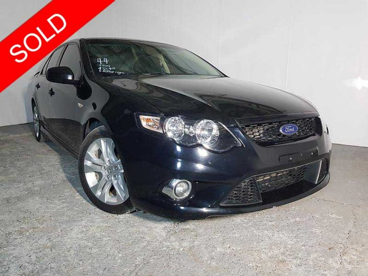 Ford Falcon FG XR6 2009 Black - Used Vehicle Sales