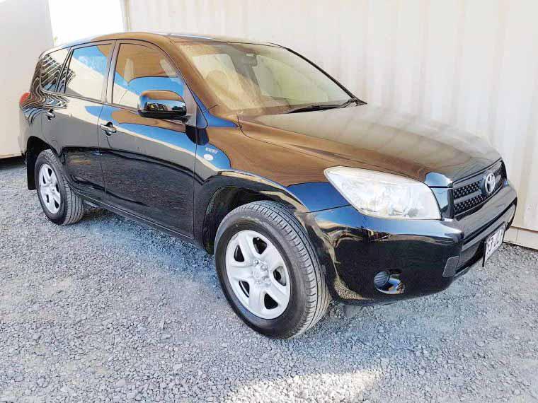 4x4-SUV-Toyota-RAV4-Wagon-2006 Black