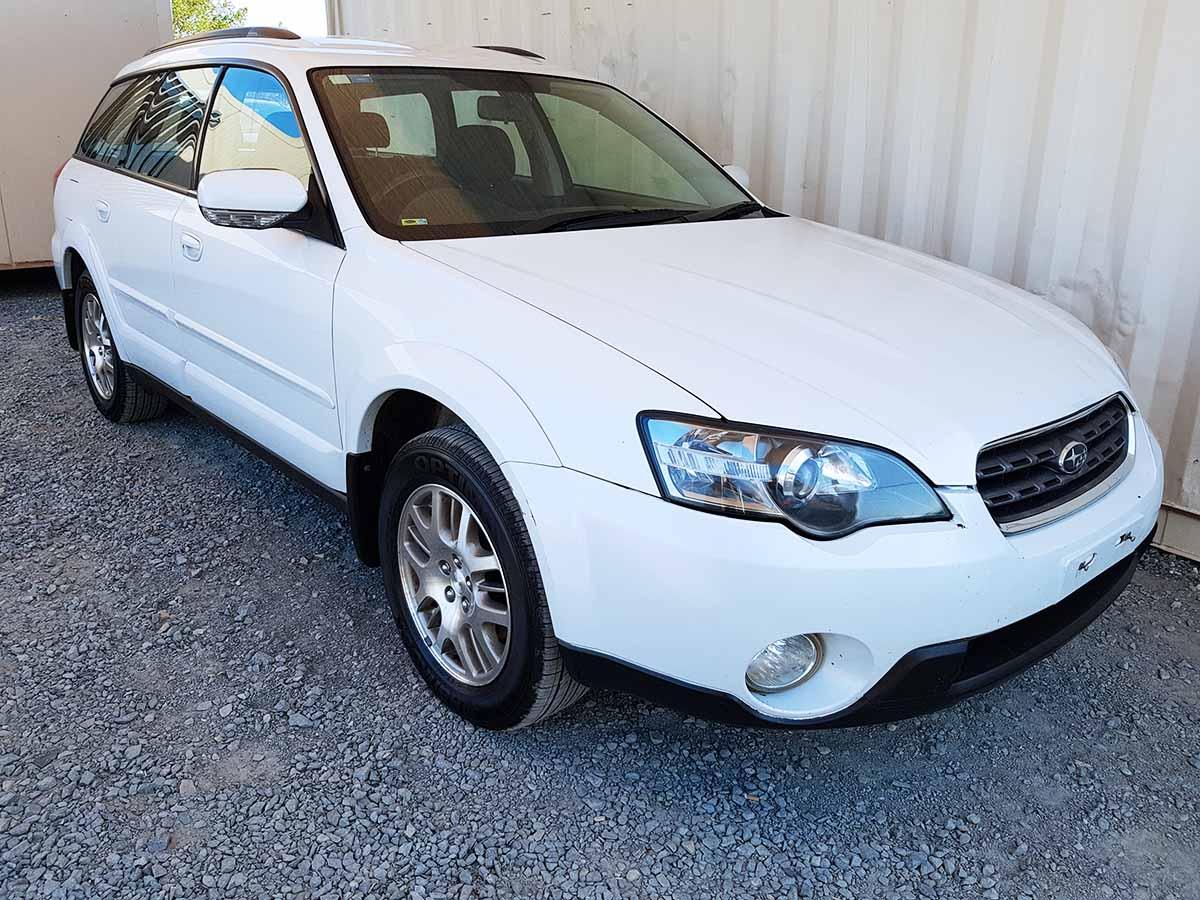 Subaru Warranty 2017 >> Subaru Outback AWD Wagon 2003 White - Used Vehicle Sales