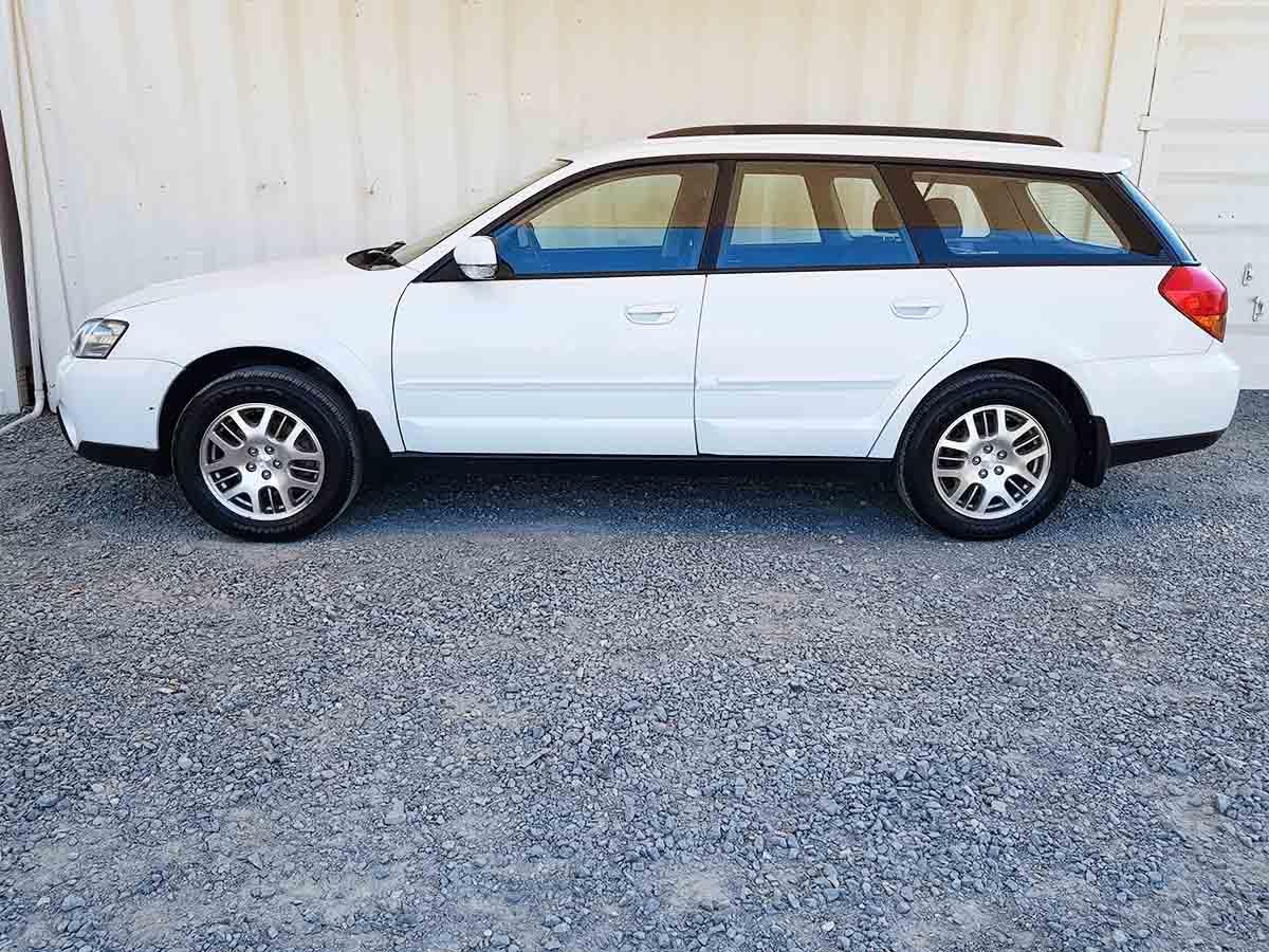 Subaru Outback Awd Wagon 2003 White 4 Used Vehicle Sales