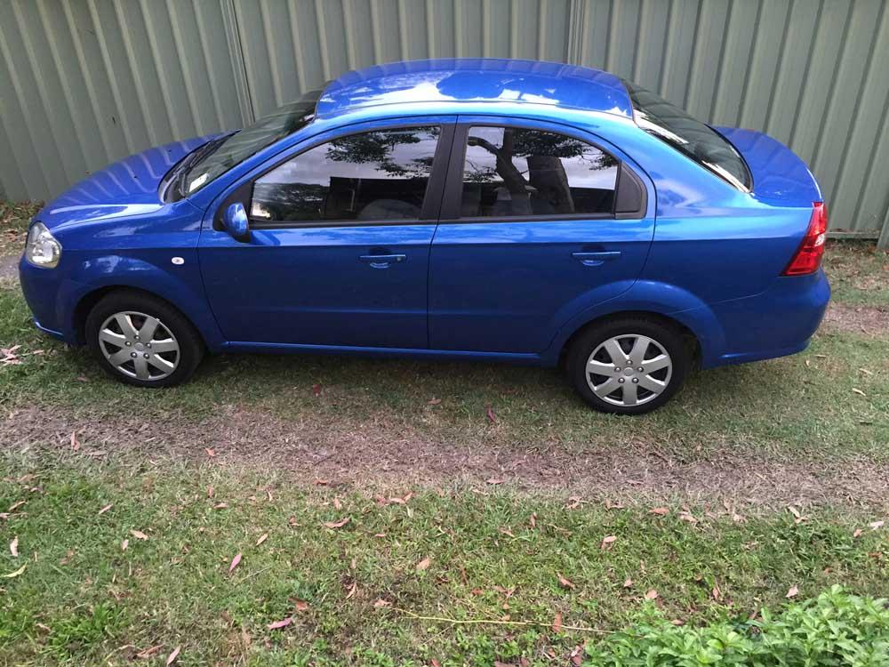 Liberty Auto Sales >> 2008 Holden Barina Blue Sedan - Used Vehicle Sales