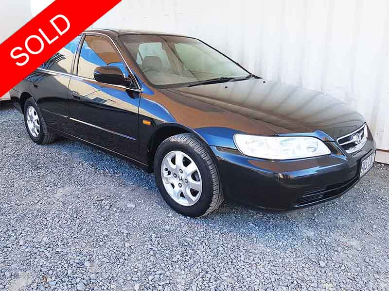 honda accord sedan 2002 black for sale 3 990 used vehicle sales. Black Bedroom Furniture Sets. Home Design Ideas