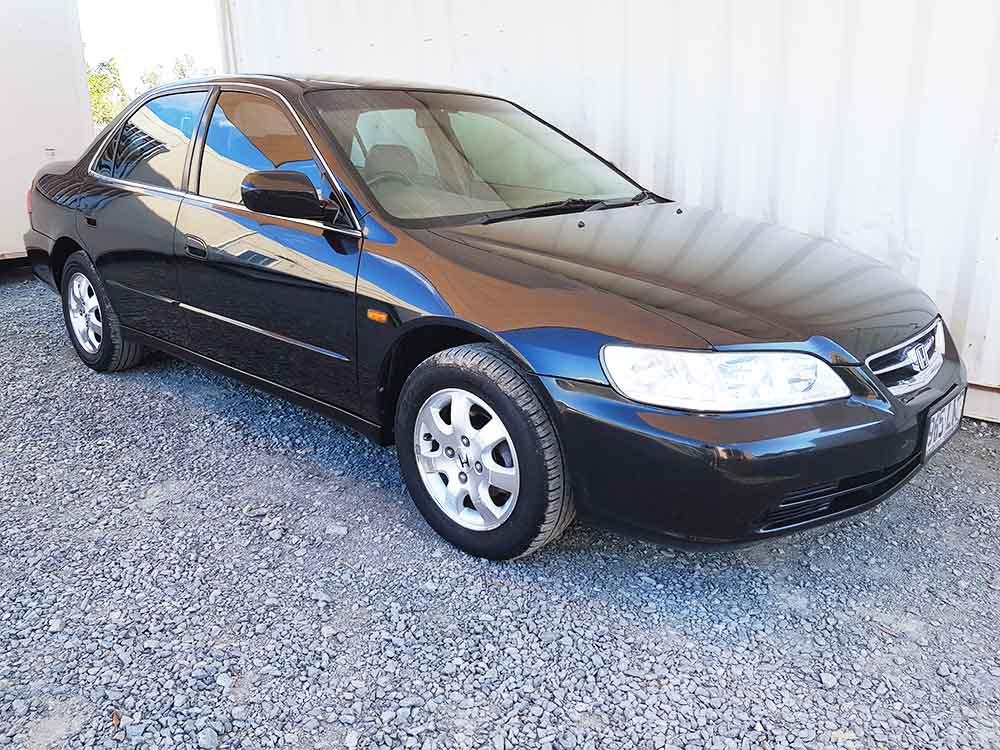 2017 Honda Accord For Sale >> Honda Accord Sedan 2002 Black For Sale $3,990- Used ...