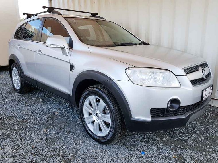 automatic 4x4 7 seat suv holden captiva 2007 for sale 8 250 used vehicle sales. Black Bedroom Furniture Sets. Home Design Ideas