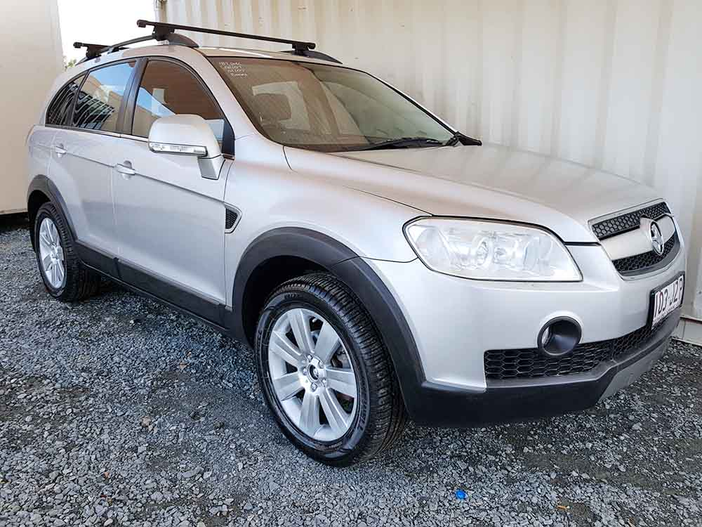 holden captiva 2007 silver for sale 8250 used vehicle sales