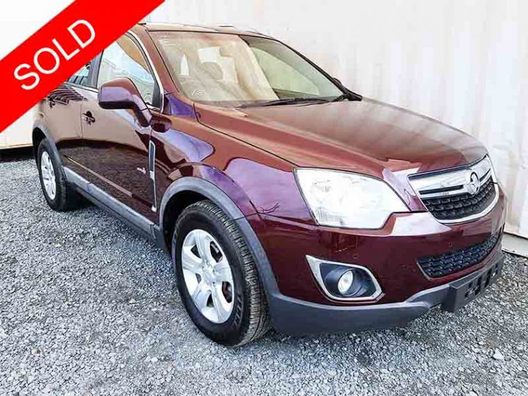 Automatic-Turbo-Diesel-AWD-SUV-Holden-Captiva-2011 Red