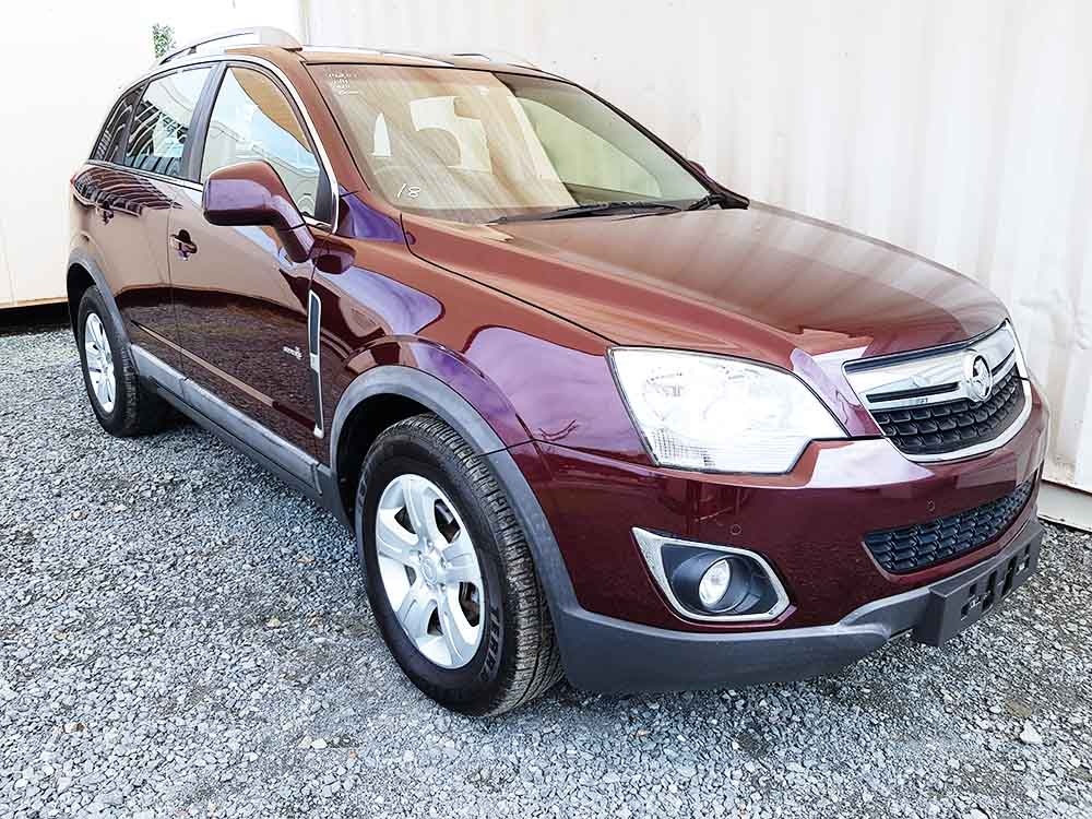 Turbo Diesel Awd Suv Holden Captiva 2011 Red Used