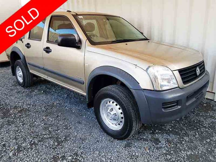 Dual-Cab-Ute-4x2-Manual-Holden-Rodeo-2004