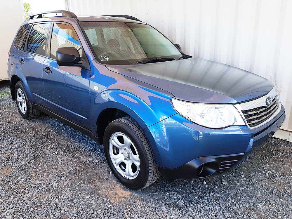 subaru forester x wagon 2008 blue used vehicle sales. Black Bedroom Furniture Sets. Home Design Ideas