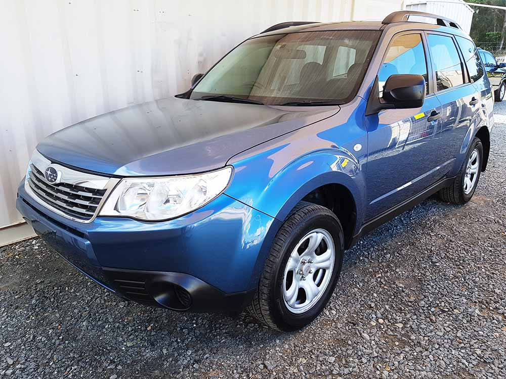 Used Subaru Forester For Sale >> Subaru Forester X Wagon 2008 Blue - Used Vehicle Sales