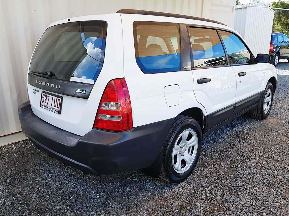 Subaru Forester X 2003 White For Sale $5,250 - Used ...