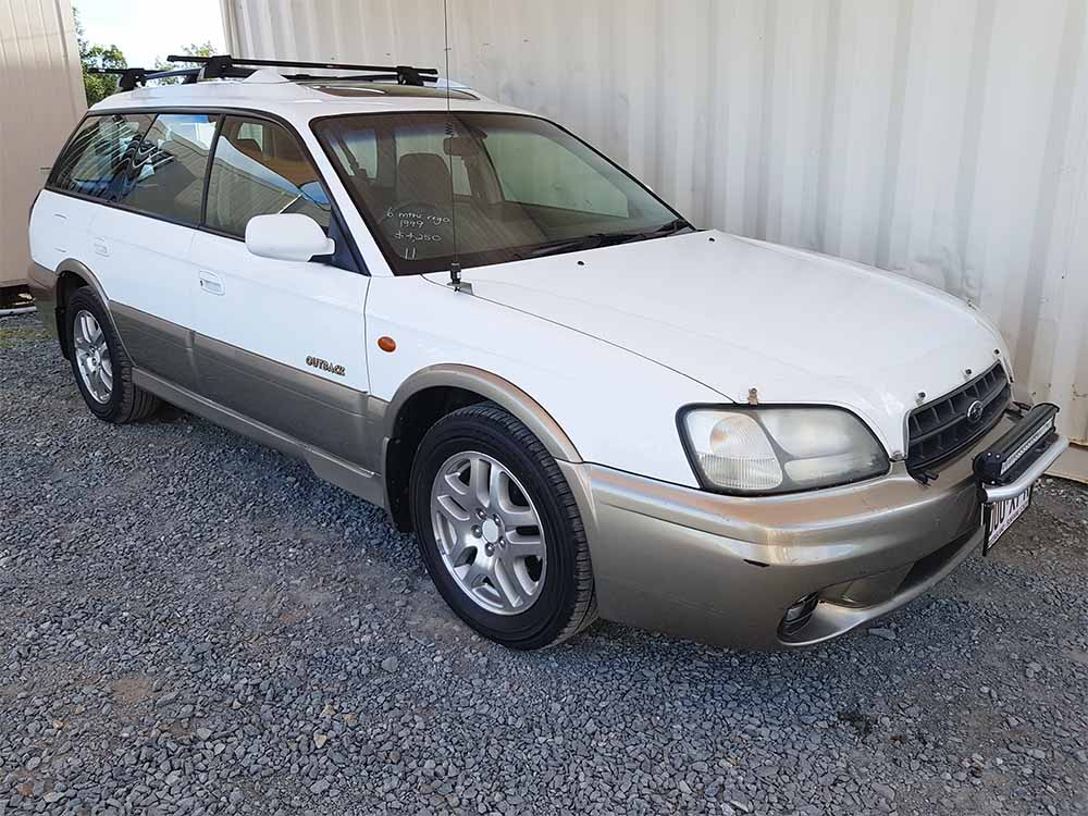 Buying A Car With No Title >> Subaru Outback Wagon White 1999 - Used Vehicle Sales