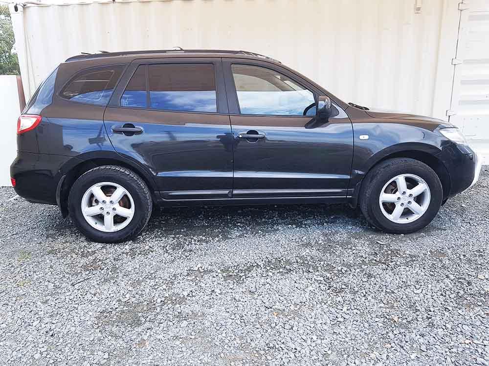 hyundai santa fe 2006 black used vehicle sales. Black Bedroom Furniture Sets. Home Design Ideas