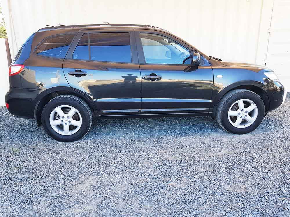 suv hyundai santa fe 2006 black 9 used vehicle sales. Black Bedroom Furniture Sets. Home Design Ideas