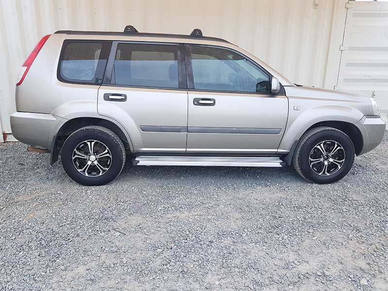 4x4 Suv Nissan X Trail 2005 Silver For Sale 9 Used Vehicle Sales
