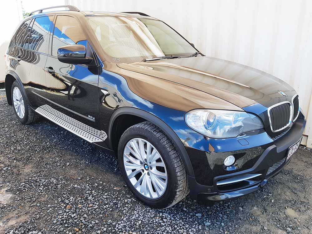 automatic 4x4 turbo diesel bmw x5 e70 2008 black for sale. Black Bedroom Furniture Sets. Home Design Ideas