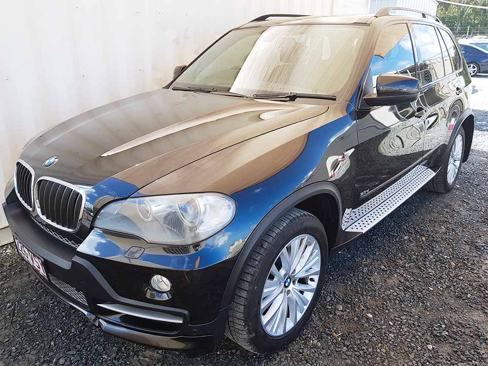 automatic 4x4 turbo diesel bmw x5 e70 2008 black for sale 3 used vehicle sales. Black Bedroom Furniture Sets. Home Design Ideas