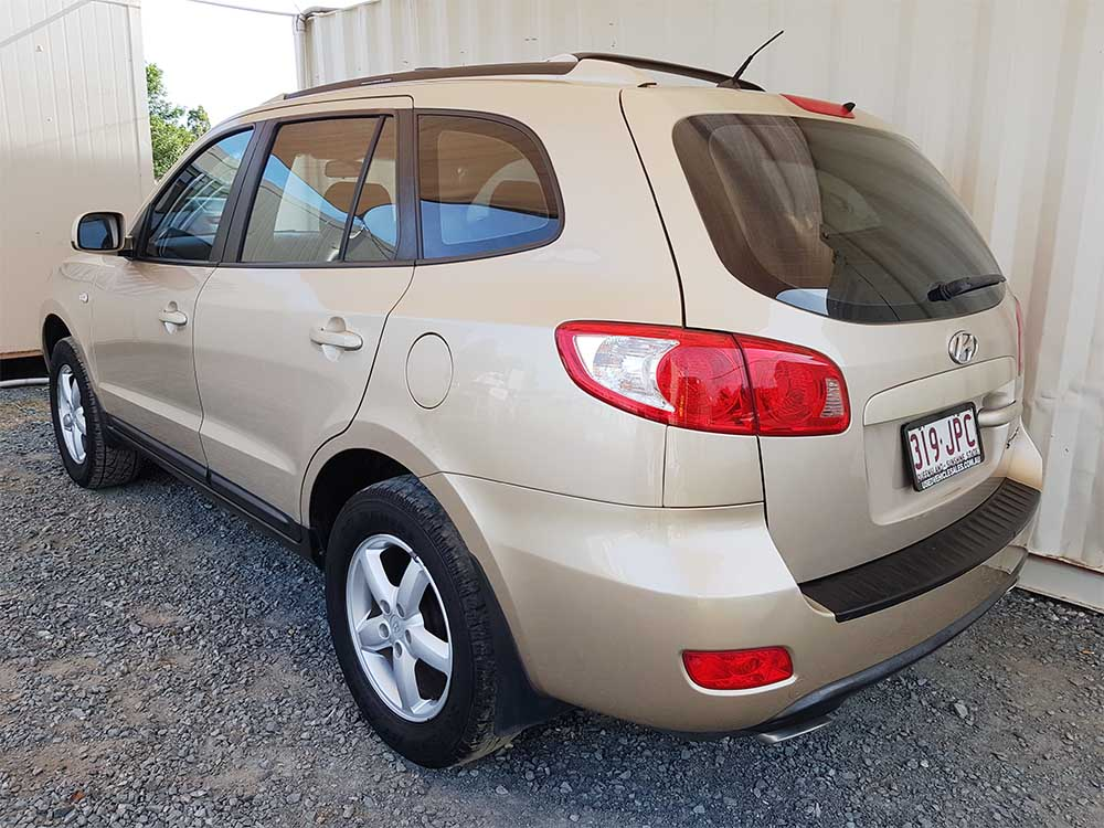hyundai santa fe 2006 gold for sale used vehilce sales. Black Bedroom Furniture Sets. Home Design Ideas
