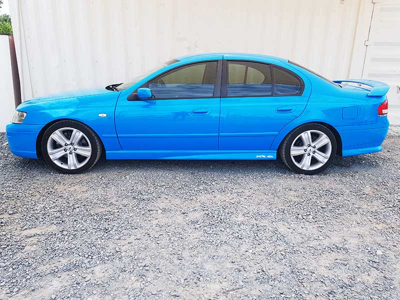 Ford Falcon XR6 BF MK II 2007 Blue | Used Vehicle Sales