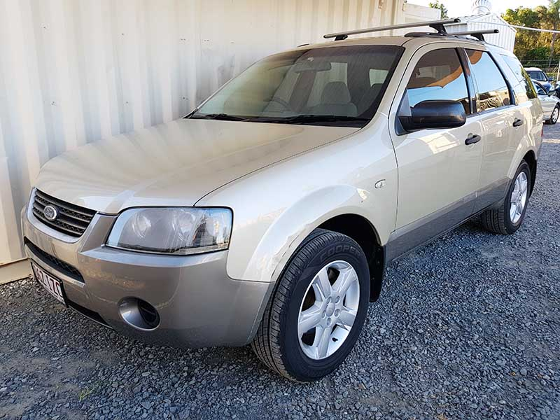 automatic 7 seat suv ford territory 2005 for sale 3 used vehicle sales. Black Bedroom Furniture Sets. Home Design Ideas