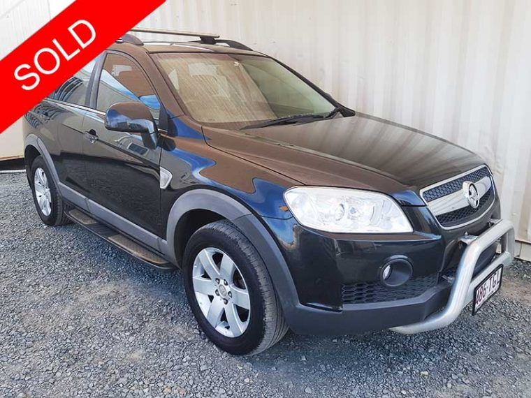 Automatic-Holden-Captiva-2009-Black-For-Sale