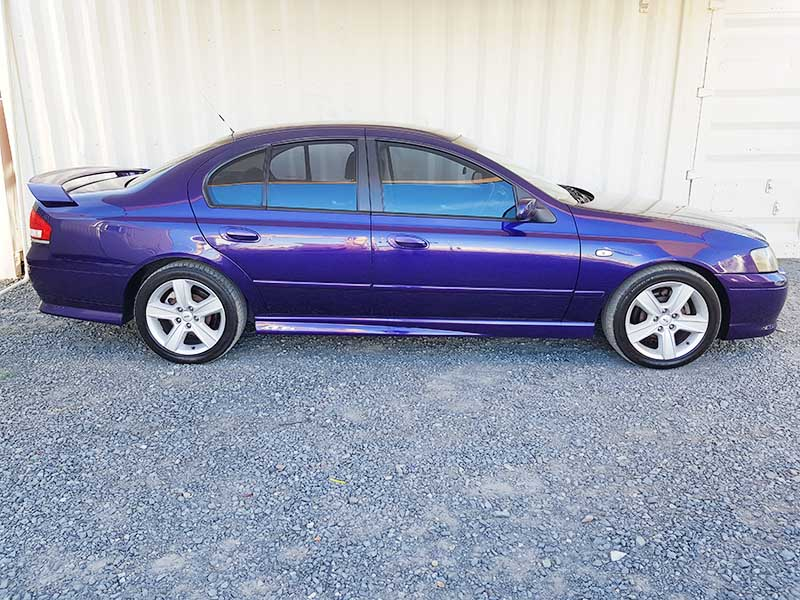 Buying A Car With No Title >> Ford Falcon BA XR6 Purple 2003 | Used Vehicle Sales