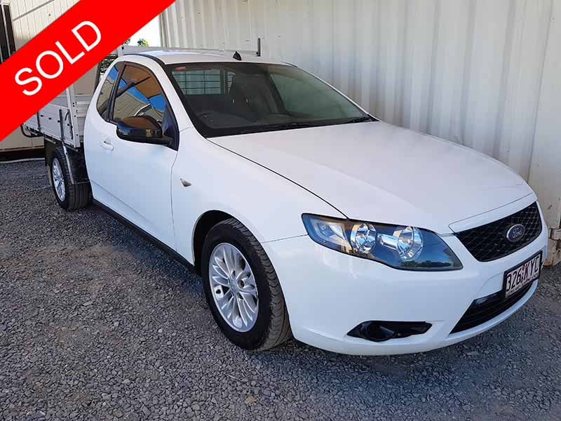 Ford-Falcon-FG-Ute-2008-White-1 | Used Vehicle Sales