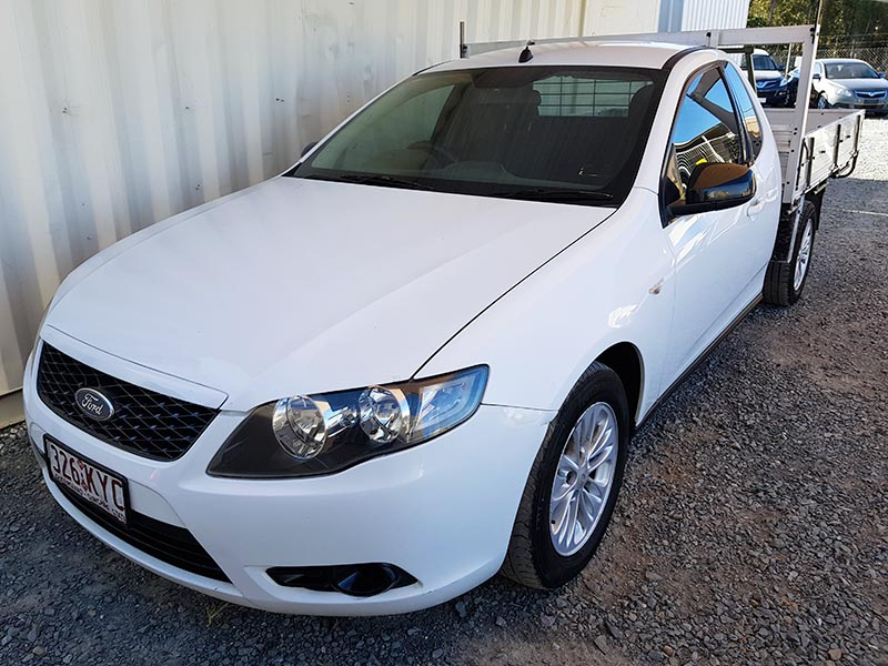 Ford Falcon FG Ute 2008 White For Sale | Used Vehicle Sales