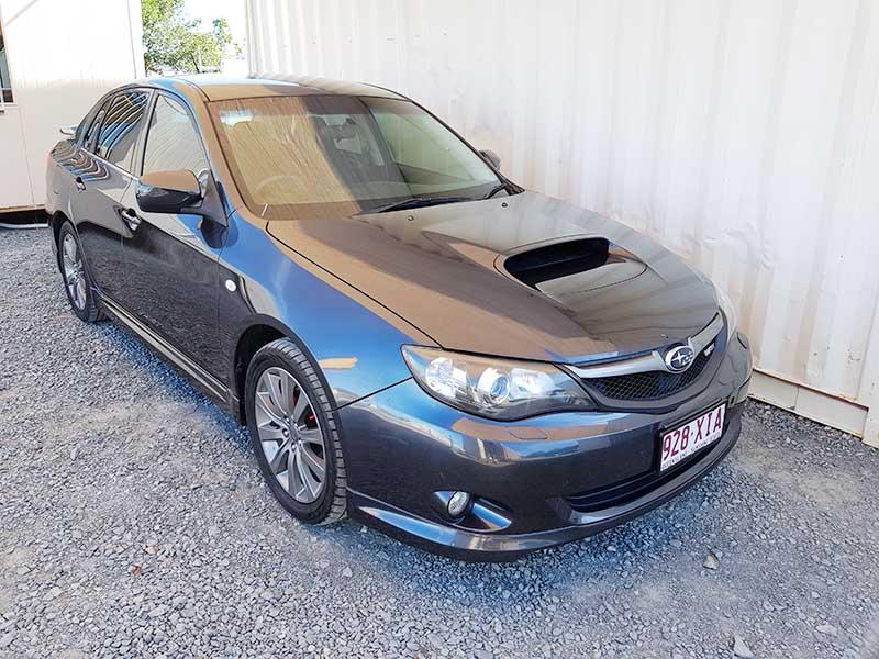 subaru impreza wrx sedan 2009 grey used vehicle sales. Black Bedroom Furniture Sets. Home Design Ideas